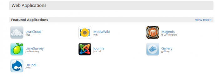 joomla web applications
